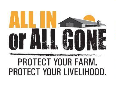 All in or all gone campaign