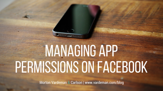 Managing App Permissions on Facebook