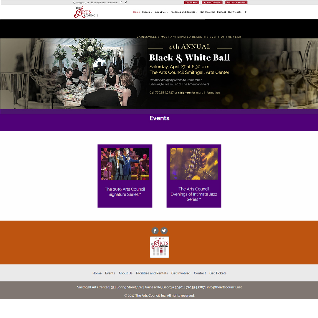 Arts Council - Home Page