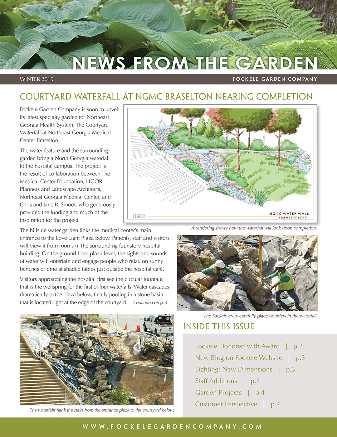 FGC - News From The Garden