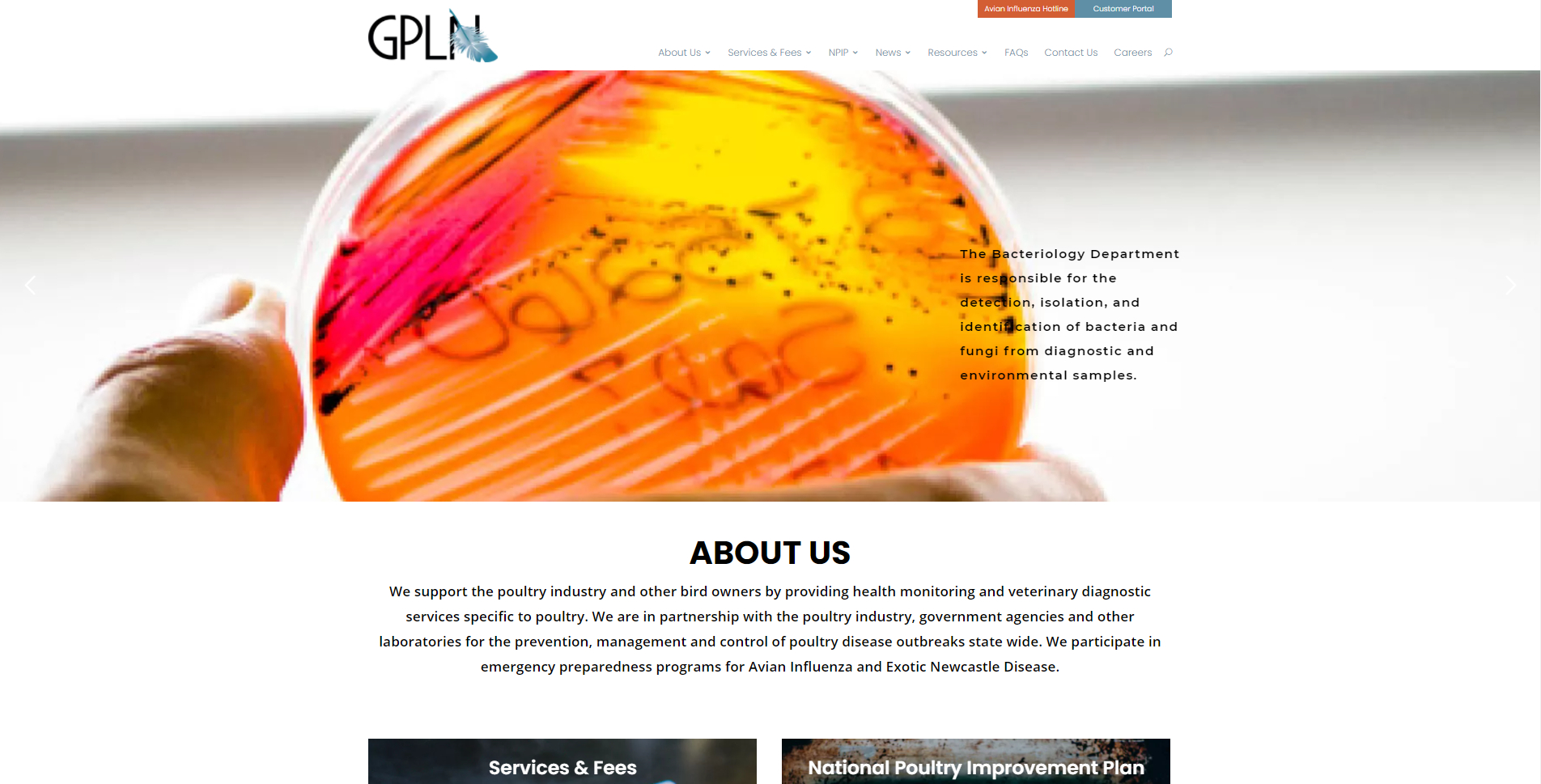 Global Poultry Laboratory Network - Homepage