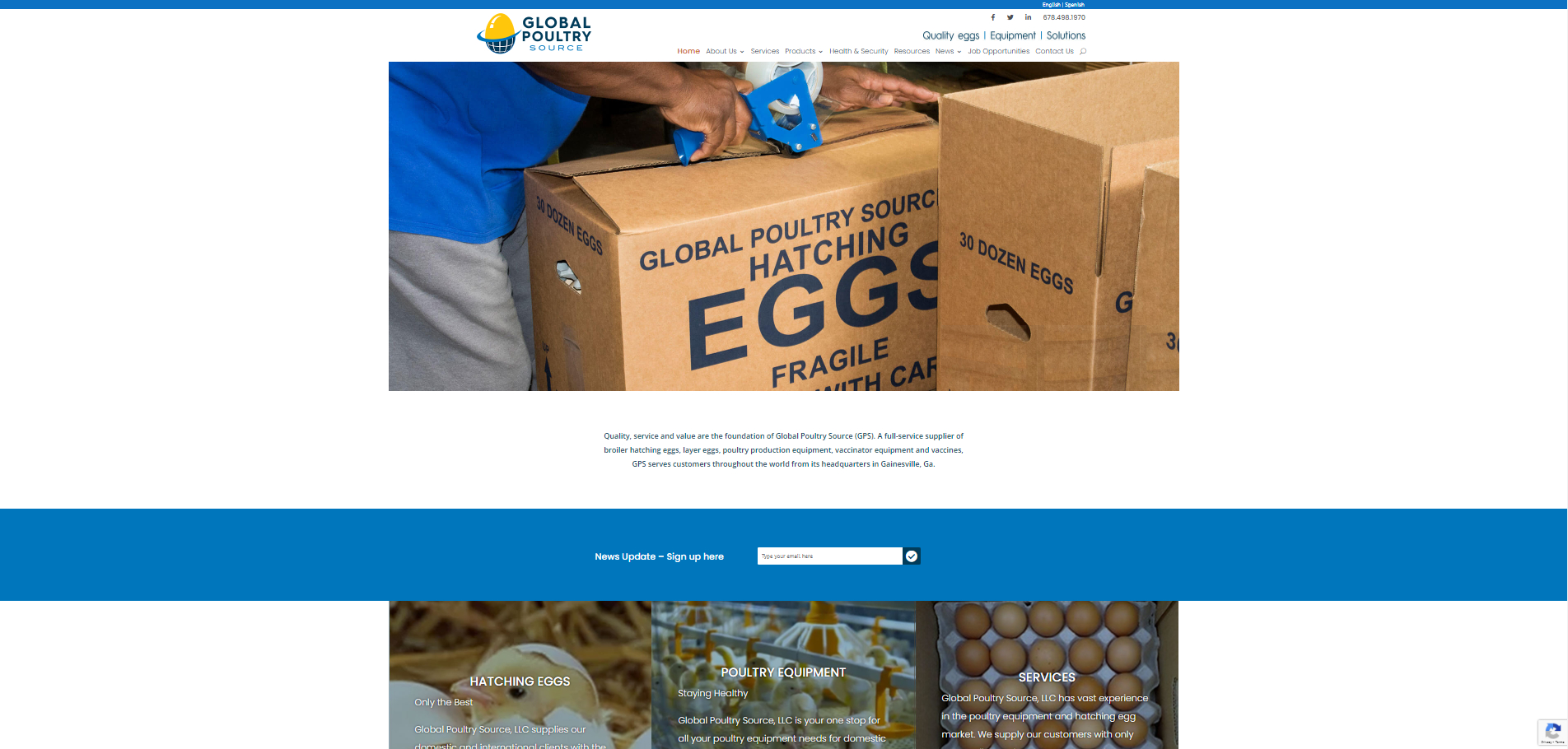 Global Poultry Source - Homepage