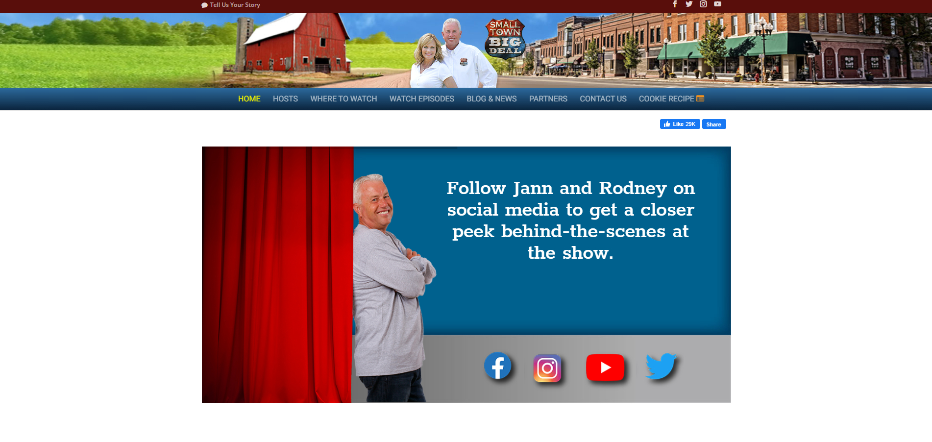 Small Town Big Deal - Homepage