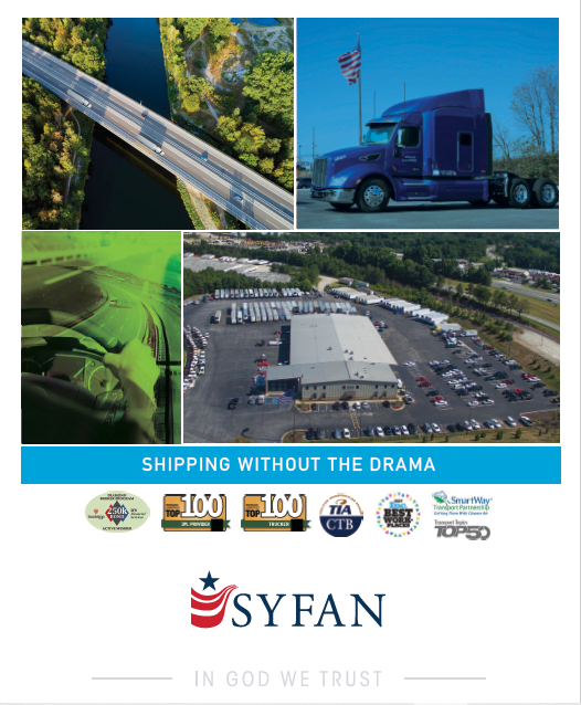 Syfan Logistics - 2020 Sales Brochure
